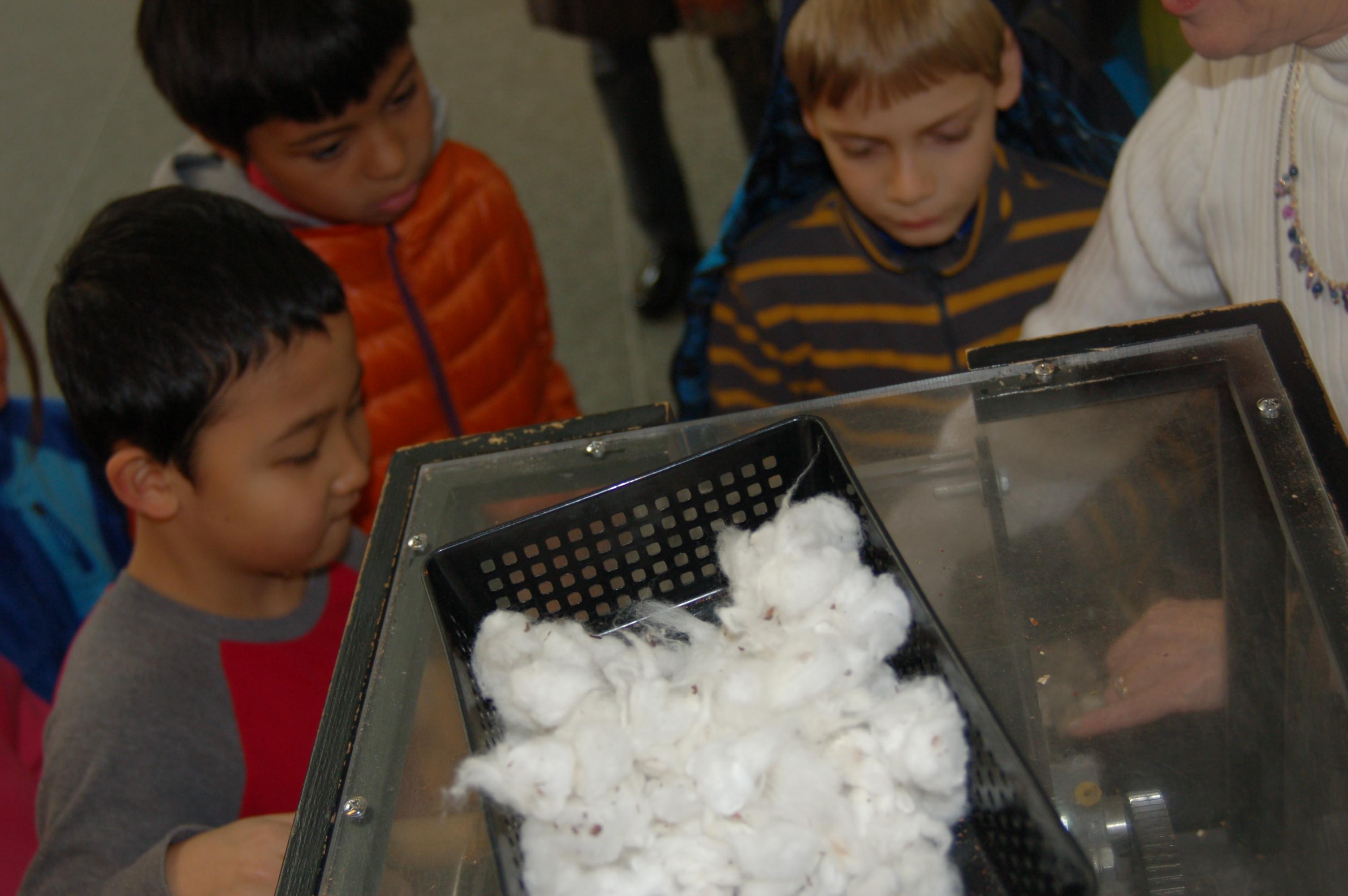 Cotton was pretty seedy in the 1700s.